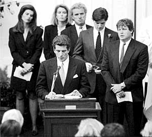 John Fitzgerald Kennedy Jr  Pictures from New York Times